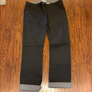 Columbia pants with flannel details